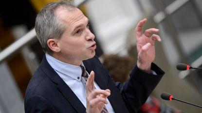 Minister Matthias Diependaele komt nieuwjaren in Zulte