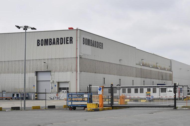 De vestiging van Bombardier in Brugge.