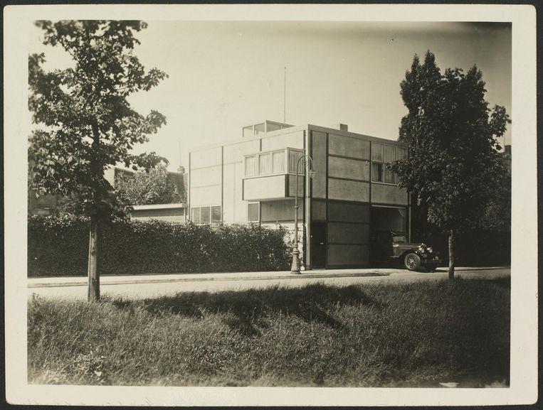 Garage met woning, circa 1928 Beeld Pictoright, Amsterdam