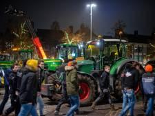 Protest van bouwers en boeren in Arnhem verloopt vreedzaam