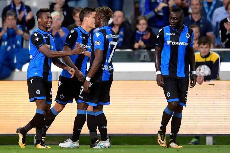 Eupen  Club Brugge Photo: Dennis Trekt Club Opnieuw Over De Streep Tegen Eupen