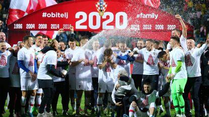 EK-KWALIFICATIES. Feest in Kroatië en Oostenrijk - Wales houdt kansen gaaf