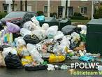 Wijkagent over puinhoop bij container Etten-Leur: 'Kijk ook eens naar uzelf'