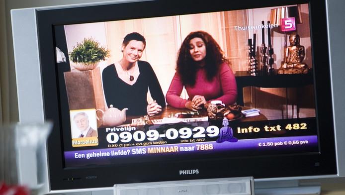 Uitzending van AstroTV in 2008