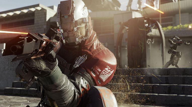 Still uit Infinite Warfare uit de Call of Duty-serie. Beeld