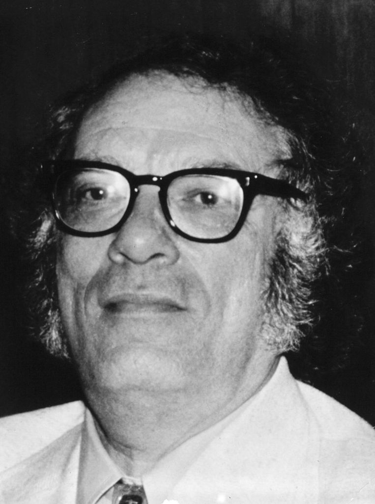 Isaac Asimov Beeld afp