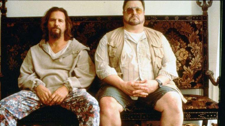 Beeld uit 'The Big Lebowski', met Jeff Bridges (l) als The Dude en John Goodman als Walter Sobchak. ©KIPPA Beeld