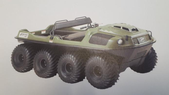 Een amfibievoertuig (foto ter illustratie).
