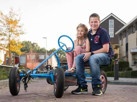 Sander uit Vriezenveen is een held; hij redde het leven van zijn zusje Loes