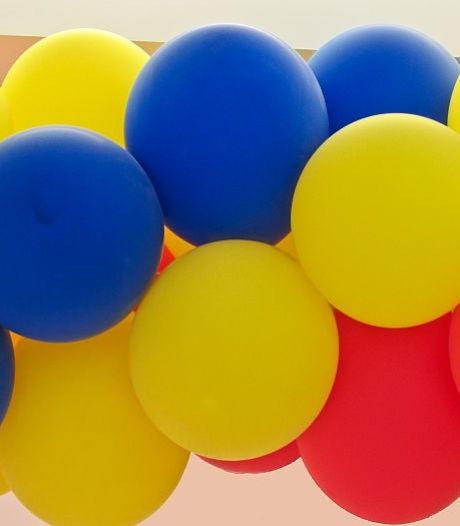 Kapelle verbiedt oplaten ballonnen