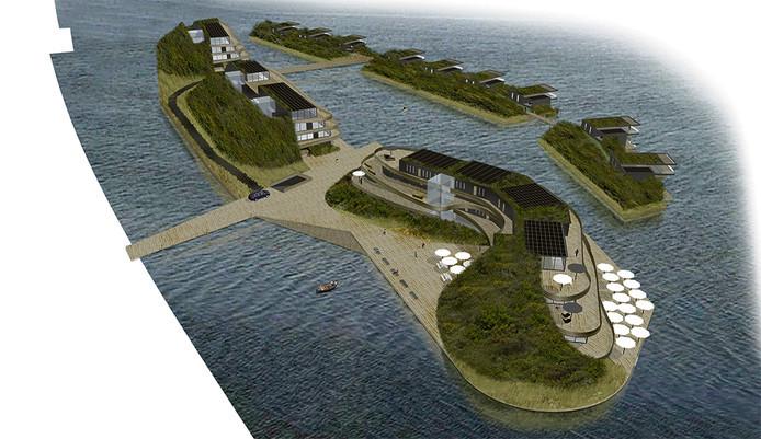 Impressie van wat de Zeeuwse Lagune had moeten worden