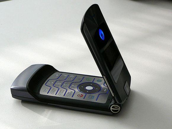 De Motorola RAZR.