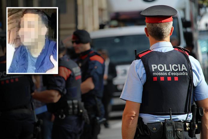 De verdachte Khalid M. is opgepakt vlakbij Tarragona.