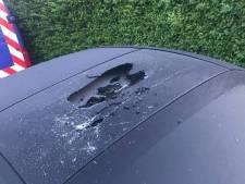 Meerdere auto's in Nieuw-Vossemeer vernield