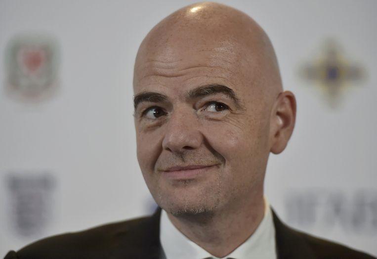 De nieuwe Fifa-voorzitter Gianni Infantino. Beeld reuters
