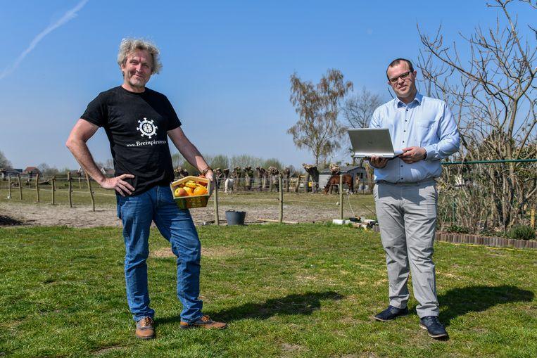 Stefaan Joos en Hans Demeyer lanceren een website die artiesten met hun publiek in contact brengt.