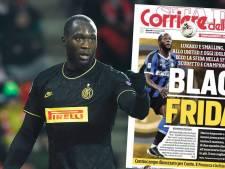 Lukaku reageert op dubieuze kop Italiaanse krant: 'Domste wat ik ooit heb gezien'