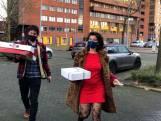 Wendy en Michiel steunen agenten met kroketten en kaassoufflés na rellen