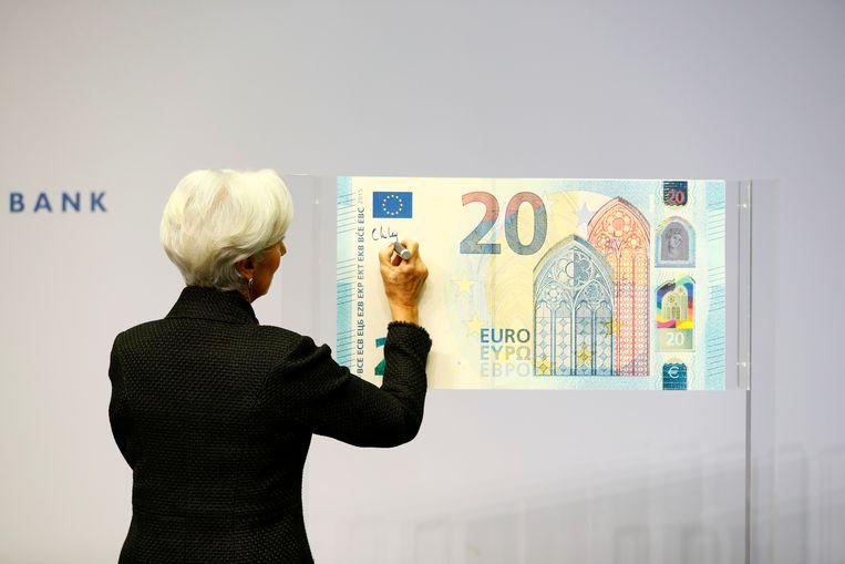 De SP wil af van de euro, en terug naar de gulden. Hoe dat moet is in het SP-programma (nog) niet uitgewerkt. Het is een bouwsteen voor een bouwplan dat later zal volgen. Beeld REUTERS