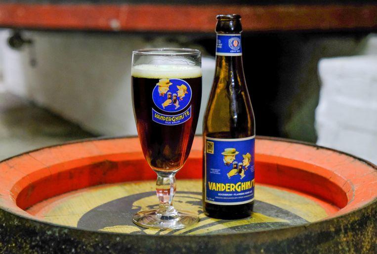 Bellegem Vlaams roodbruin bier van Vander Ghinste.