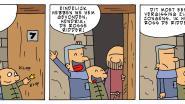 Cartoonist Geinz brengt tweede Rosse Ridder-album uit