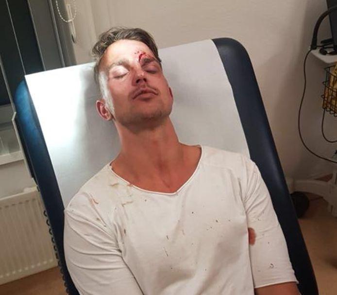 Alard van Keulen in het ziekenhuis.