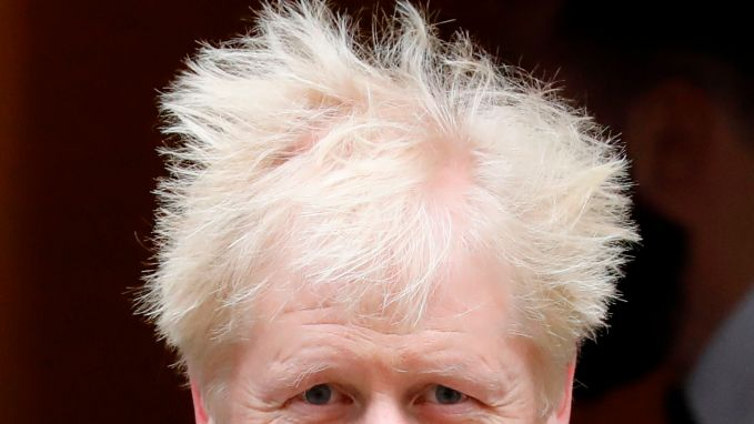Boris Johnson heeft absolute meerderheid beet Boris Johnson