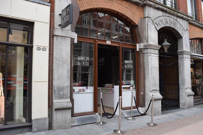 De winkel is zaterdag voor het laatst geopend