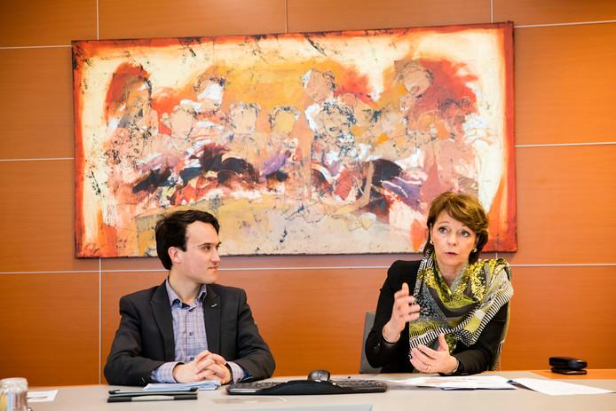 Persgesprek Burgemeester Blanksma en wethouder Smeulders in Helmond
