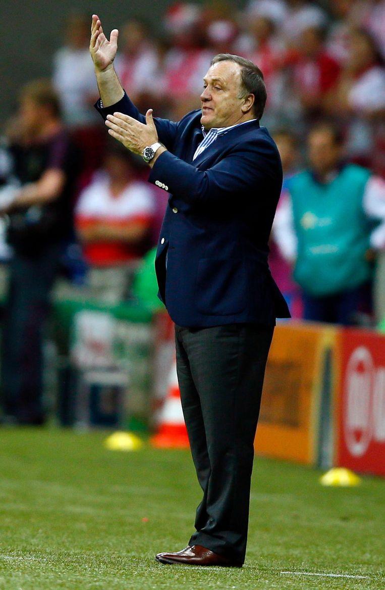 Dick Advocaat verspeelde punten met Fenerbahçe. Beeld reuters