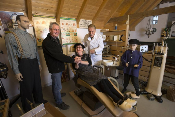 Tonnie Klein Lebbink, Dorien Salemink en Martin Veenink.