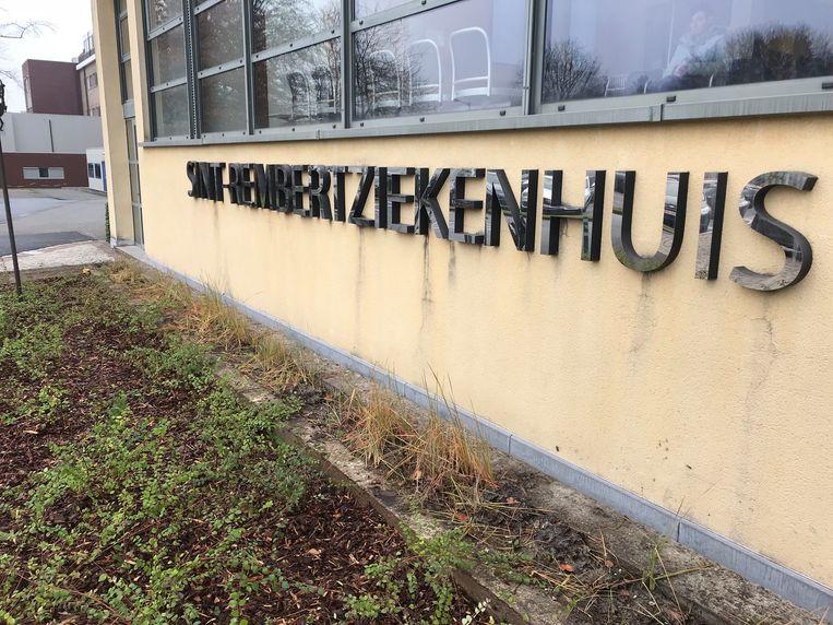 De fietser moest voor verzorging naar het ziekenhuis van Torhout.