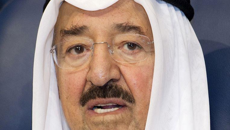 De emir van Koeweit, Sheikh Sabah al-Ahmad al-Sabah Beeld reuters