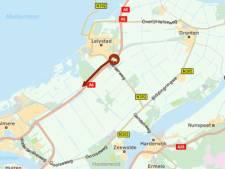 A6 bij Lelystad is weer vrij: file van anderhalf uur begint op te lossen