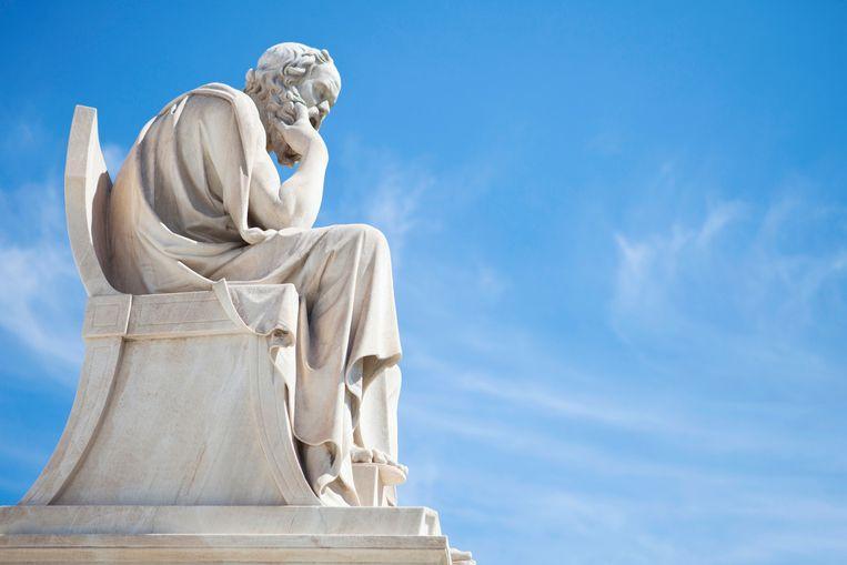 Standbeeld van Socrates. Beeld Thinkstock