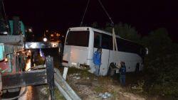 Drie Belgen lichtgewond na busongeluk op Lesbos