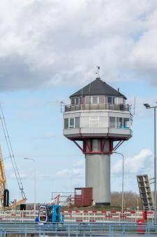 Uitkijktoren Westsluis Terneuzen morgen weg