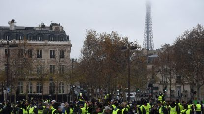 Frankrijk zet zich schrap voor nieuwe actiedag gele hesjes: ruim 89.000 manschappen op pad, Eiffeltoren blijft gesloten