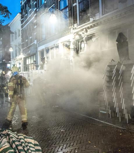 Brand bij Argentijns restaurant in Zwolse binnenstad