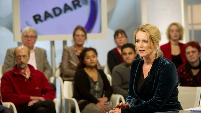 Presentatrice Antoinette Hertsenberg.