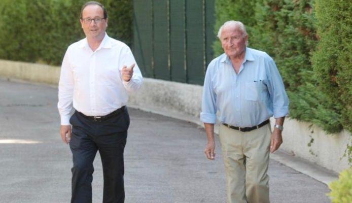 François et Georges Hollande.