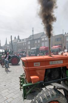 Grote Markt in Goes voor een dag domein van trucks en trekkers
