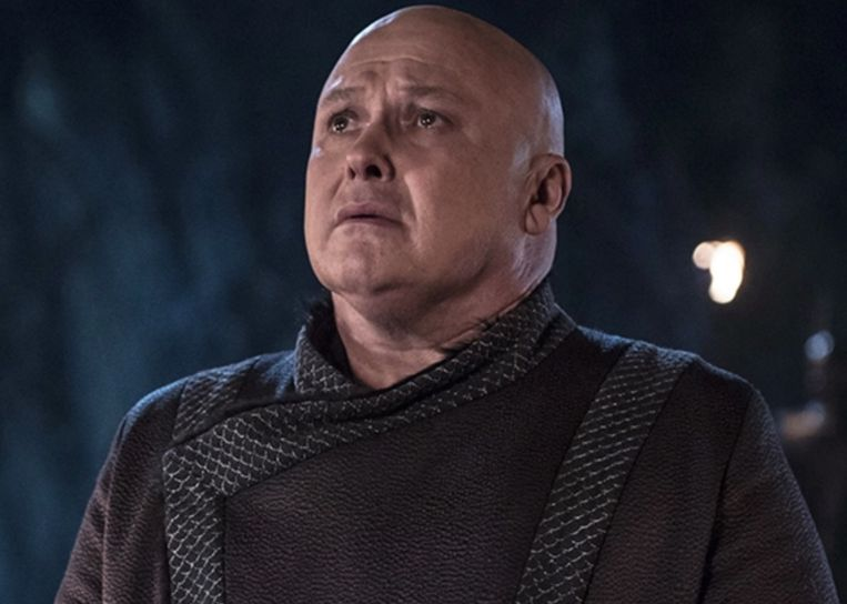 Conleth Hill als Varys in 'Game Of Thrones'.