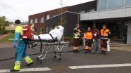 Evacuatieoefening in wzc De Buurt