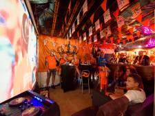 WK-finale in mancave in Helmond: 'Pak 'm dan man!', roept Bert nog maar een keer