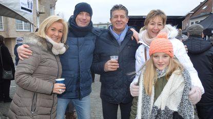 Vol Welleplein geniet van nieuwjaarsdrink