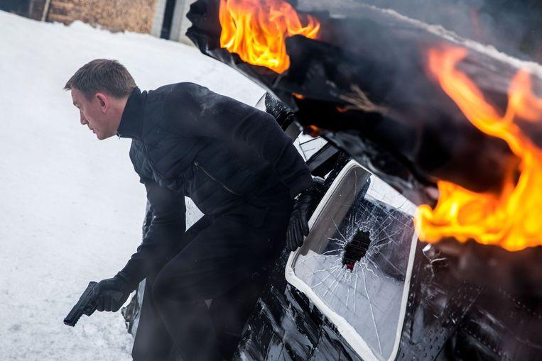 Beeld uit de nieuwe James Bond-film. Beeld Jonathan Olley