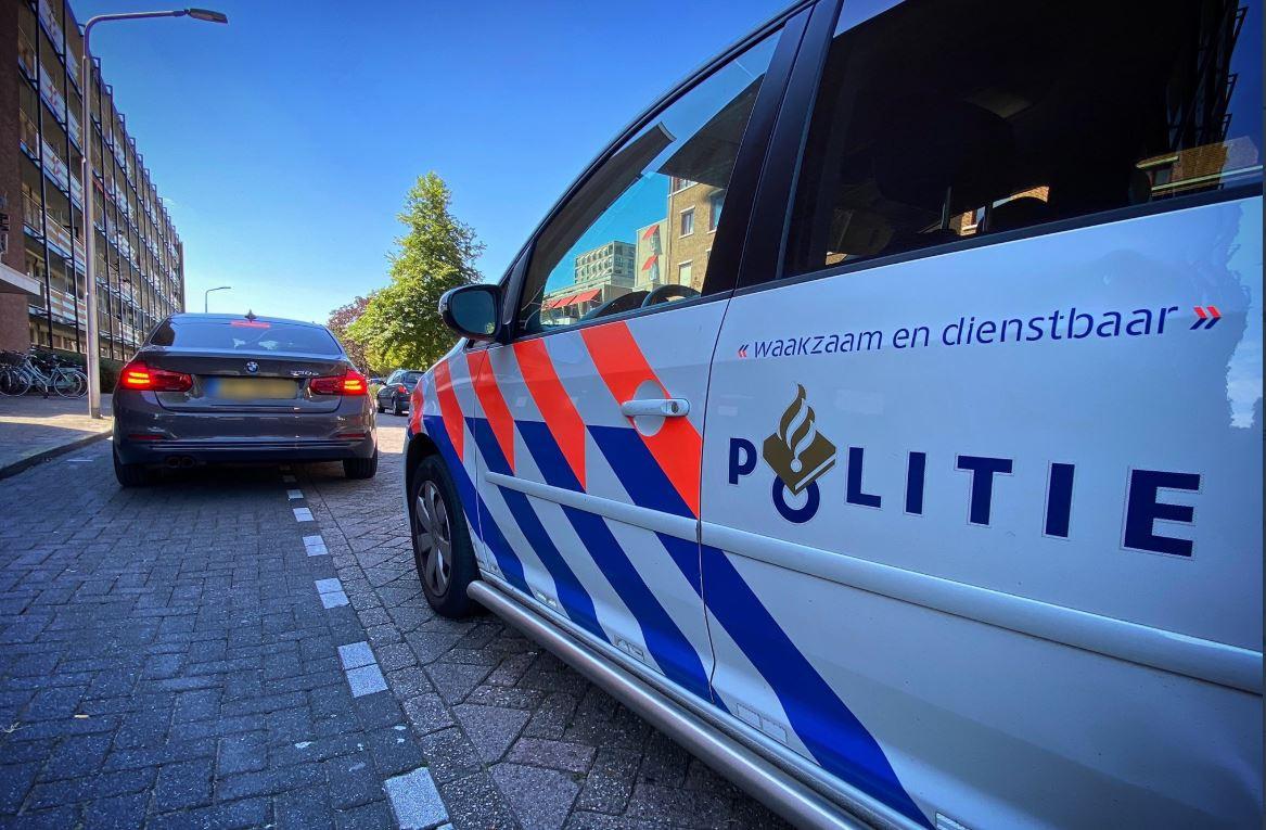 De BMW viel op bij de agenten in Sliedrecht
