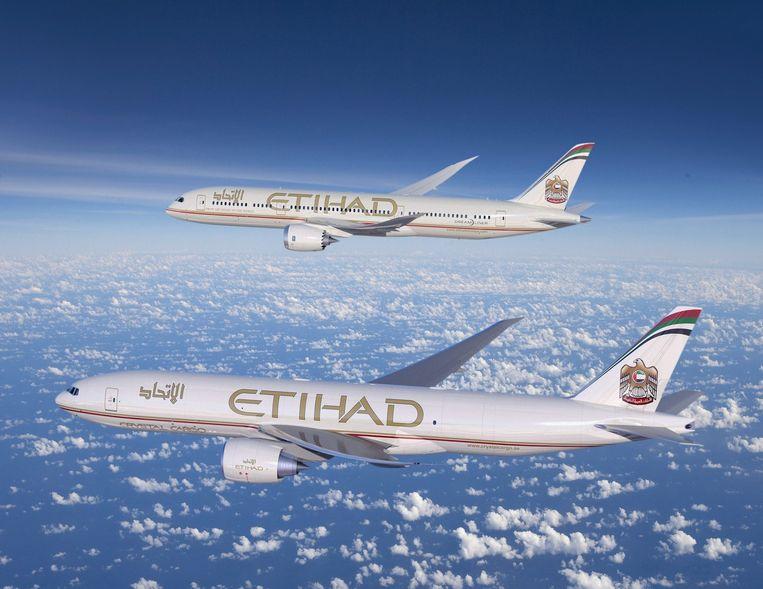 Etihad Airways. Beeld epa