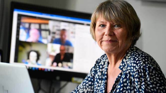"""""""We gaan voor tracing-app"""", zegt Karine Moykens. Zij volgt Emmanuel André op als hoofd 'contact tracing'"""